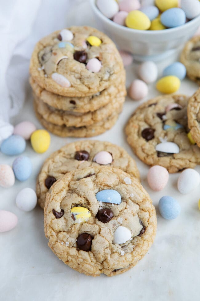 Cadbury Mini Eggs Cookies