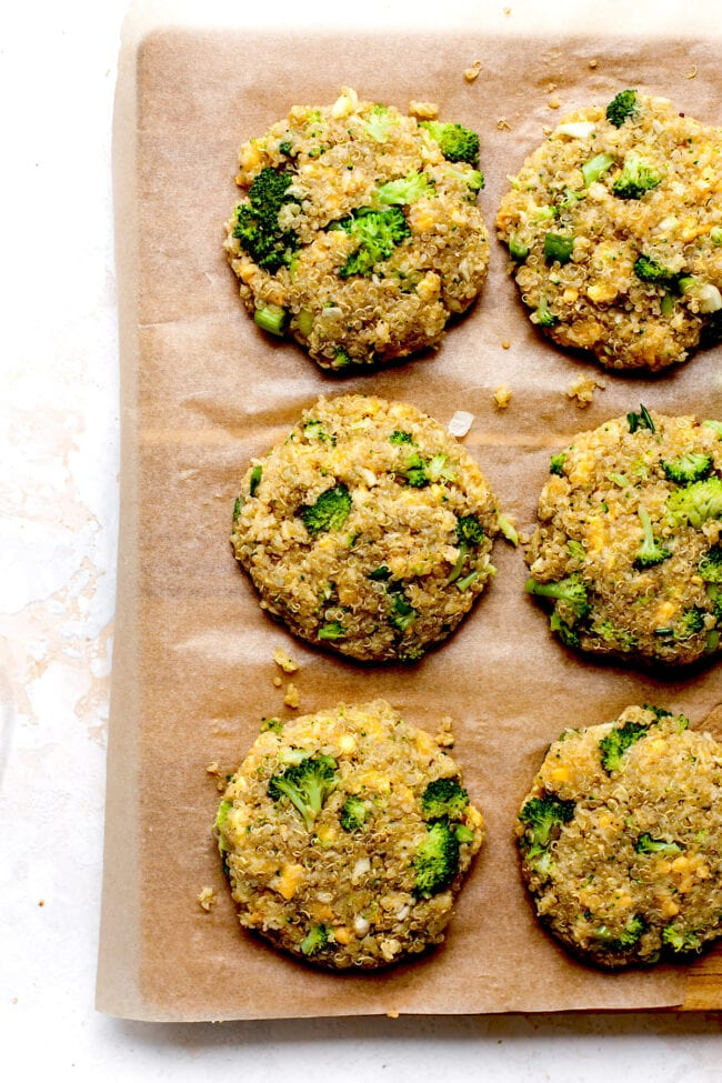 Broccoli Cheddar Fritters Recipe
