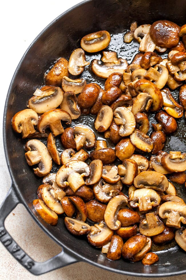Brown Butter Mushroom Pasta Recipe