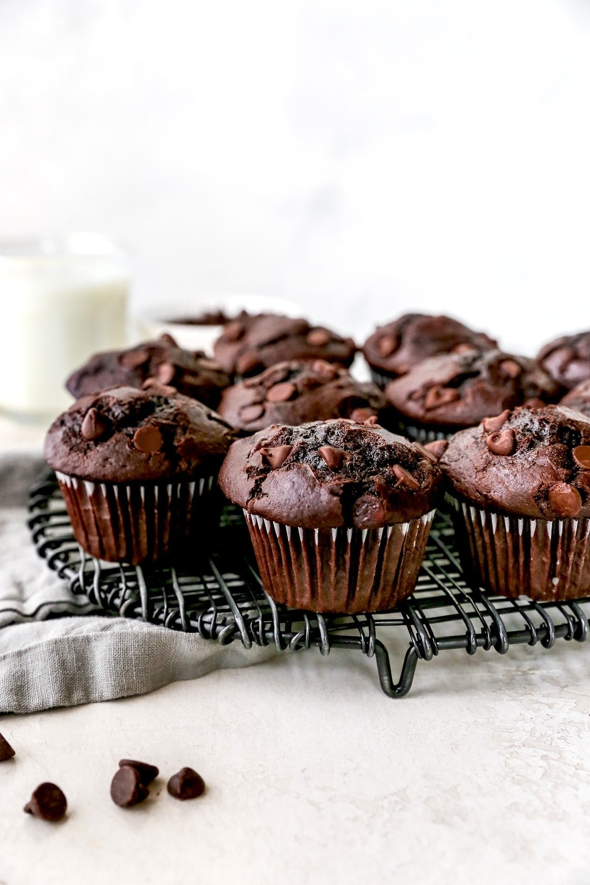 Double Chocolate Muffins Best Ever Two Peas Their Pod