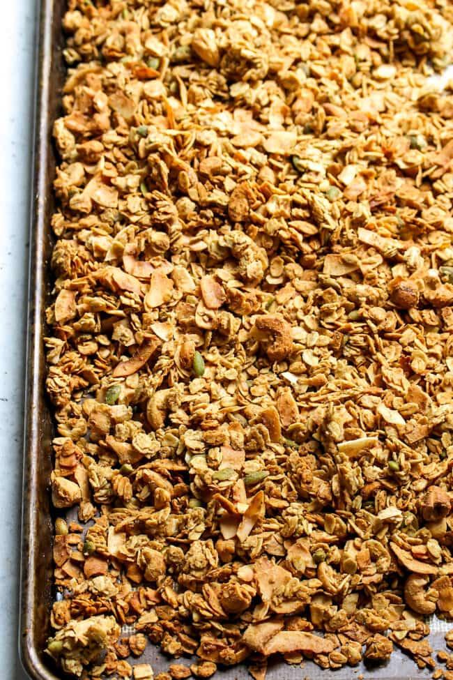 Cashew Coconut Granola Recipe
