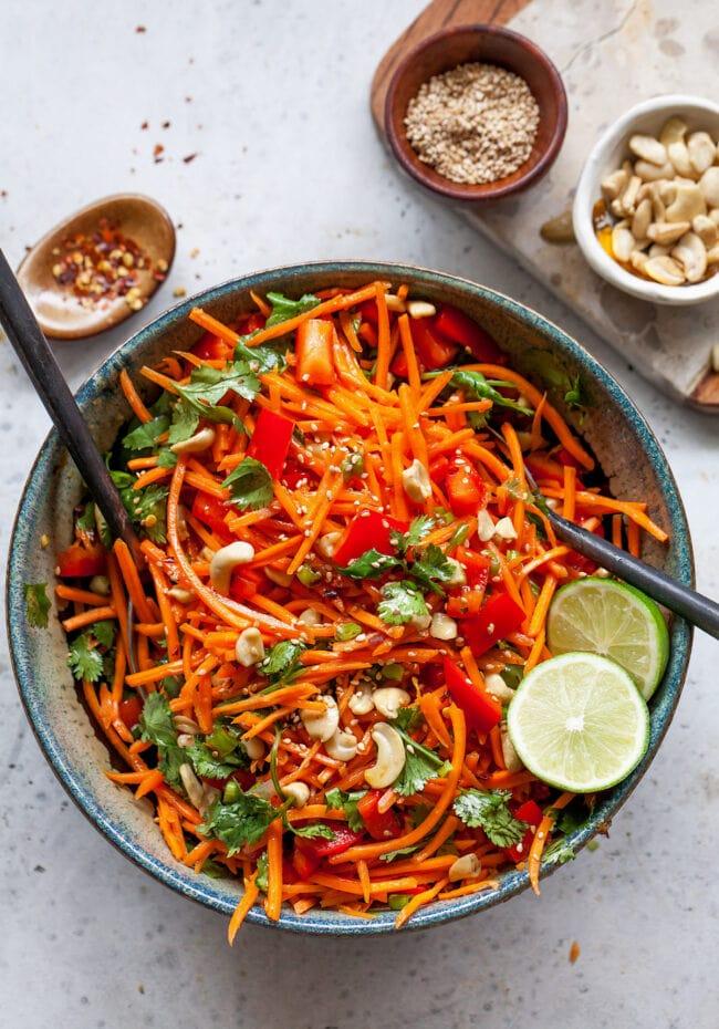 Asian Carrot Salad Recipe