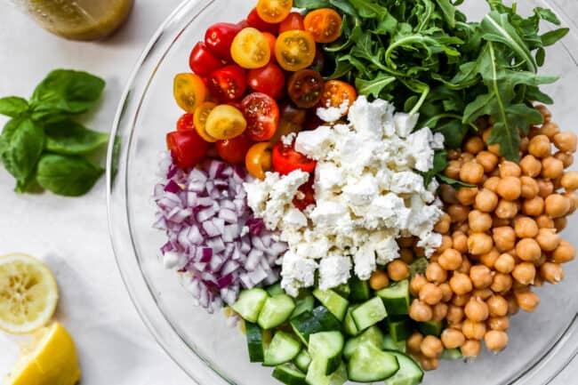 easy orzo salad