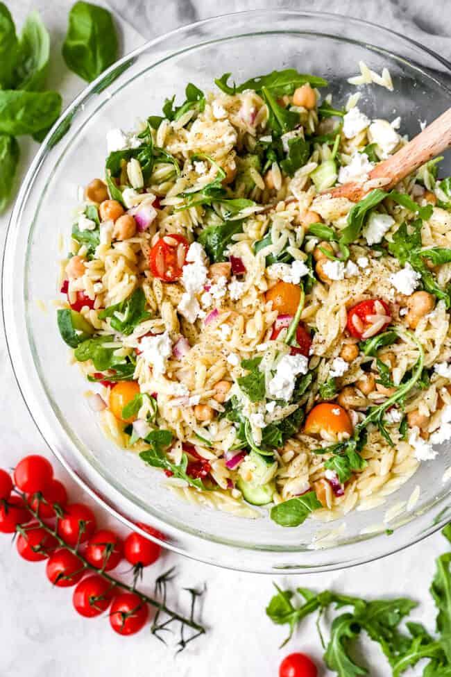 how to make orzo salad