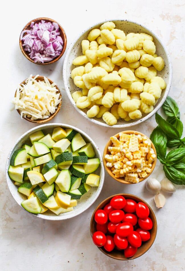 Butter Parmesan Gnocchi Ingredients