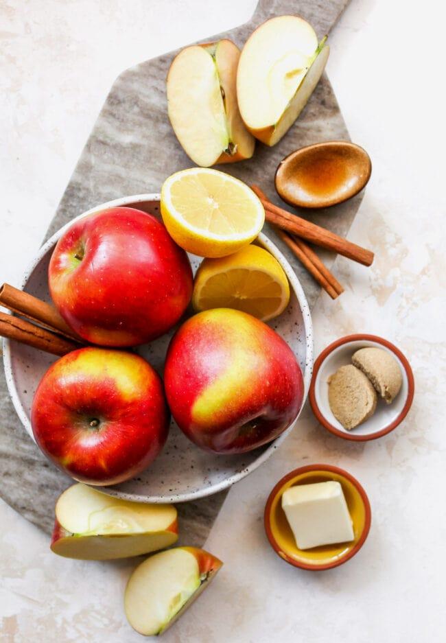 cinnamon apples ingredients