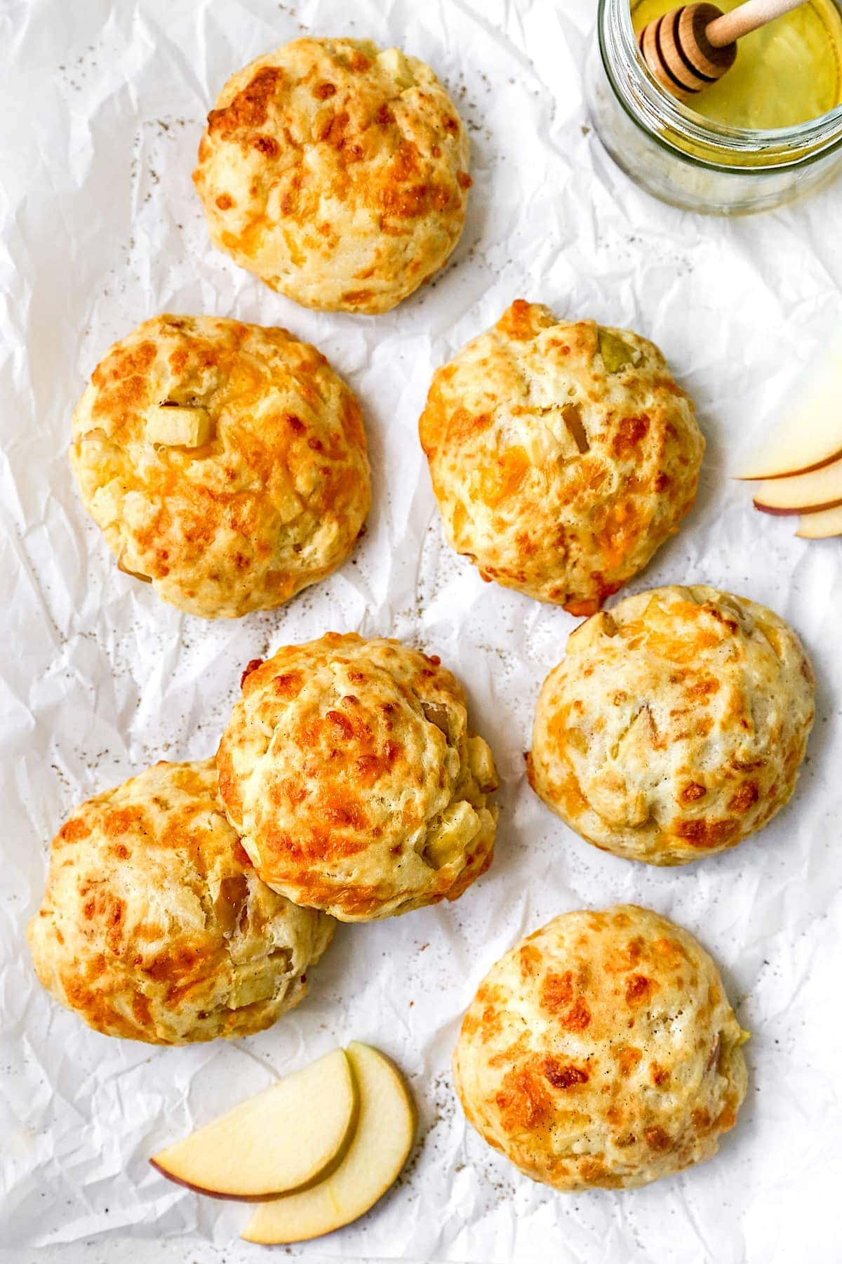 Apple Cheddar Biscuits Two Peas Their Pod