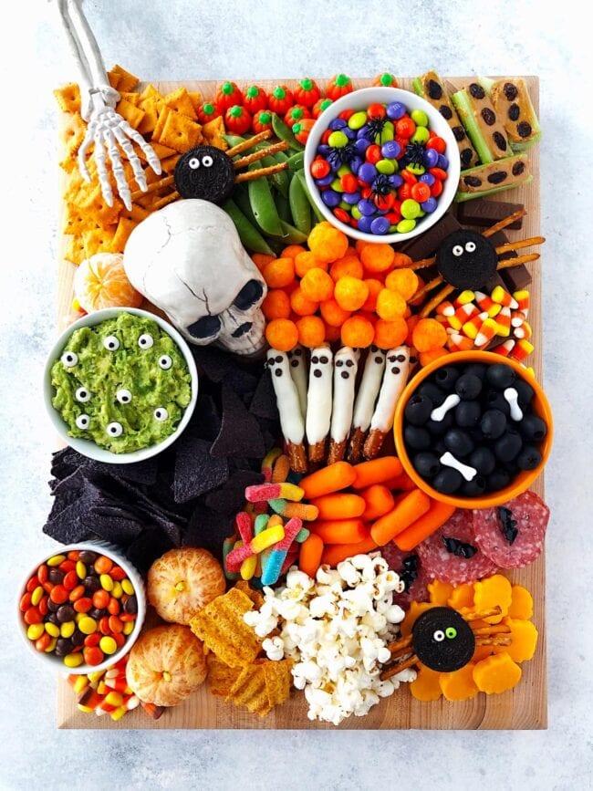 Halloween Snacks on board