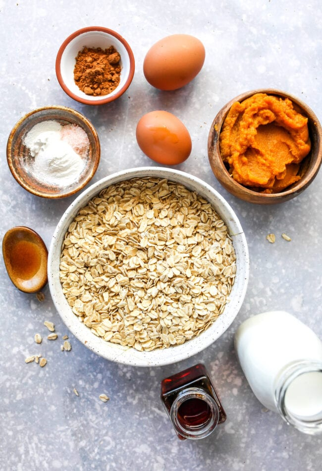 healthy pumpkin pancakes ingredients