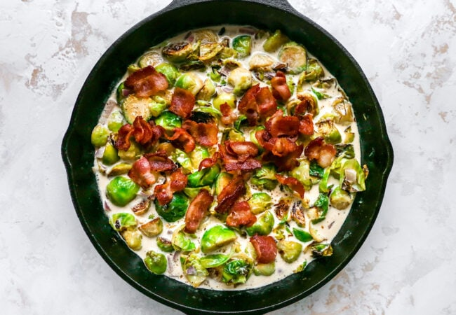 how to make Brussels sprouts casserole