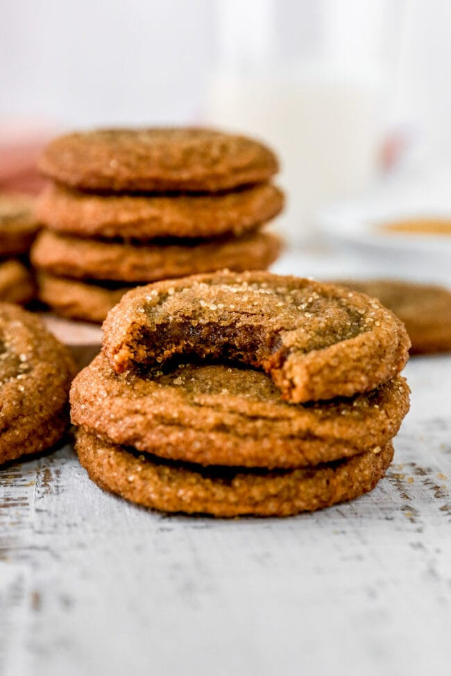 chewy molasses cookie recipe
