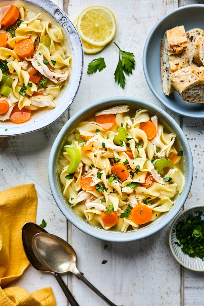 classic chicken noodle soup