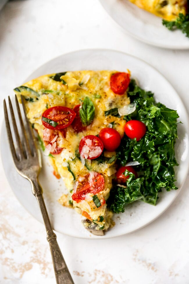 easy egg frittata