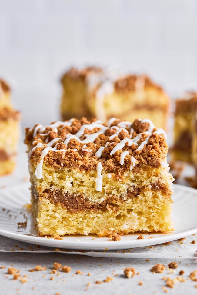 coffee cake on plate