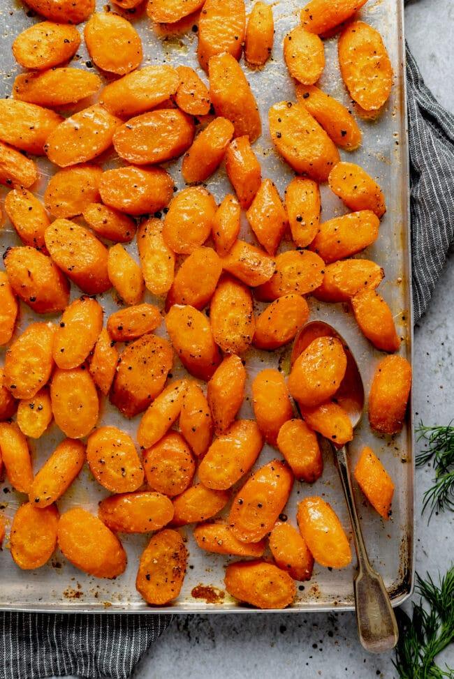 roasted carrots recipe