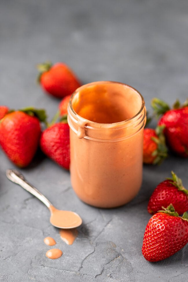 strawberry balsamic dressing for strawberry spinach salad