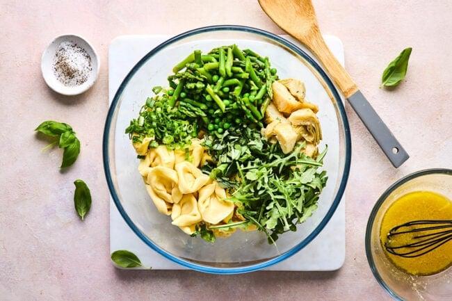 spring tortellini salad recipe
