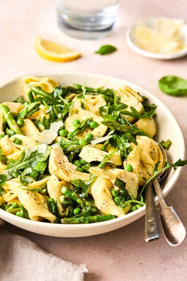 easy spring tortellini salad