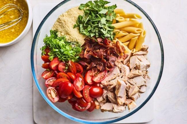 chicken pasta salad ingredients