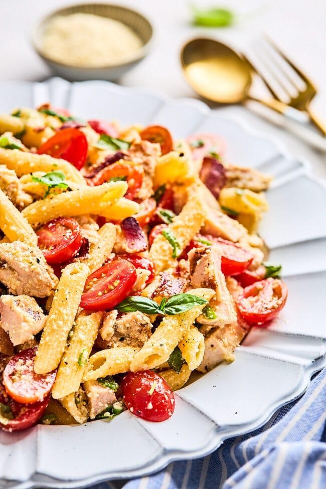 how to make chicken pasta salad