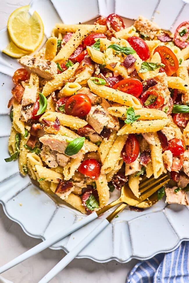 chicken pasta salad recipes