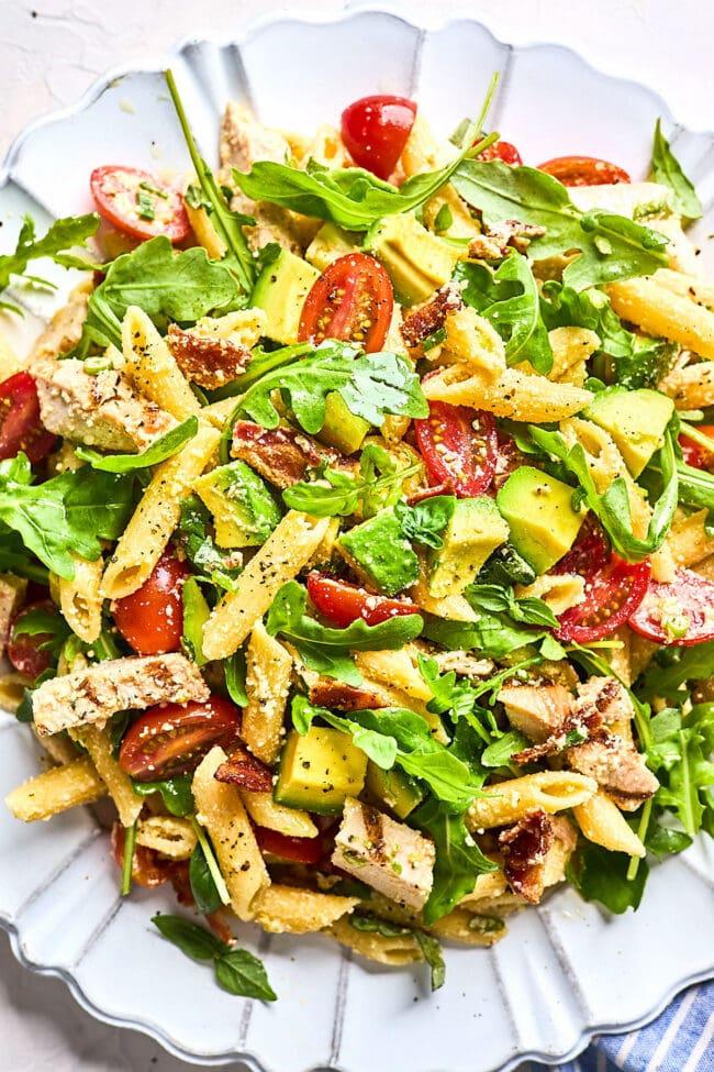 easy chicken pasta salad recipe