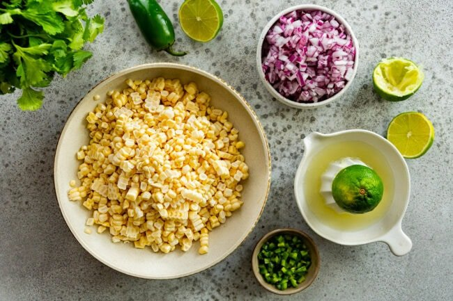 how to make corn salsa