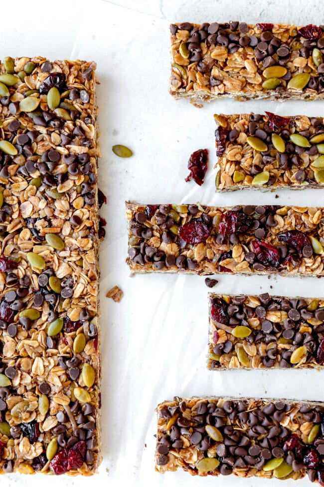 Nut-Free Granola Bars Recipe