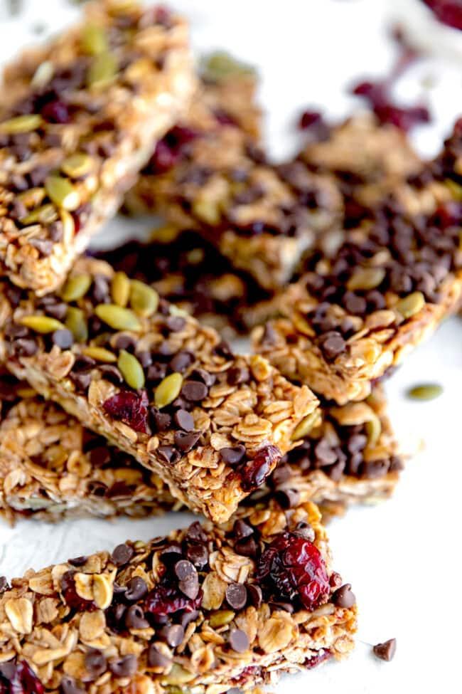 Nut-Free Homemade Granola Bars