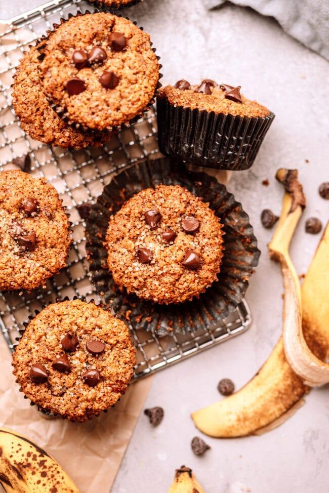 how to make healthy banana muffins